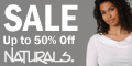 Save 25% on Sale Items at Naturals!