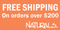 Free shipping on all orders over $200 at Naturals!