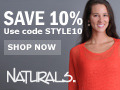 Save 10% On All Orders at Naturals!