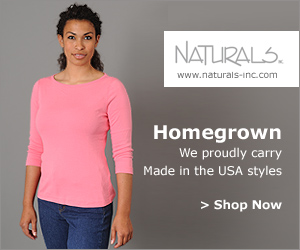 Shop Made in the USA Styles at Naturals Inc