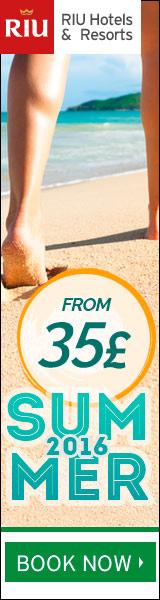 Riu Hotels summer 2016 offers