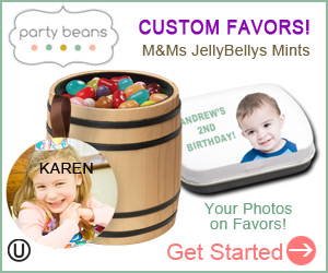 Party Favors to match every theme - because you custom create them yourself!