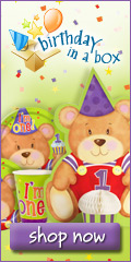 Discount Party Themes - Up to 40% Off at Birthday in a Box Through January 2009