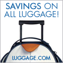 Savings on all luggage!