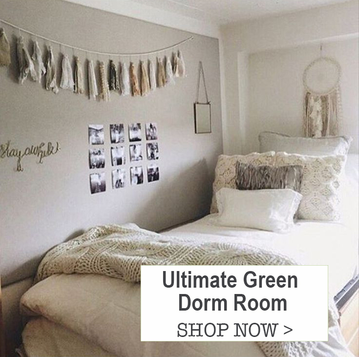 Ultimate Green Dorm Room