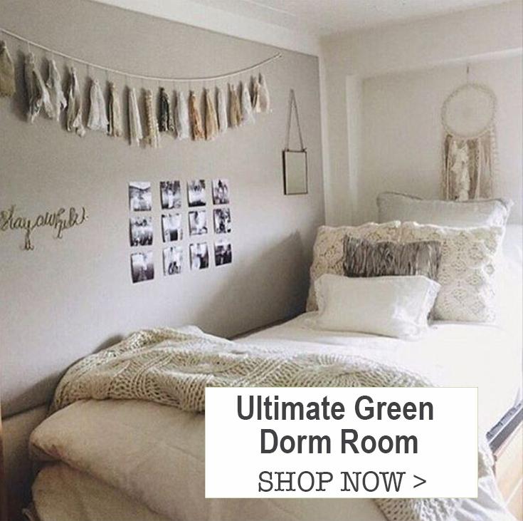 Ultimate Green Dorm Room