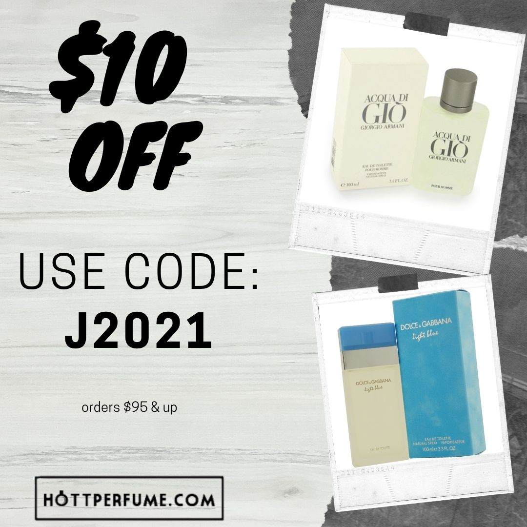 $10 OFF At Hottperfume.com Orders $95 & Up