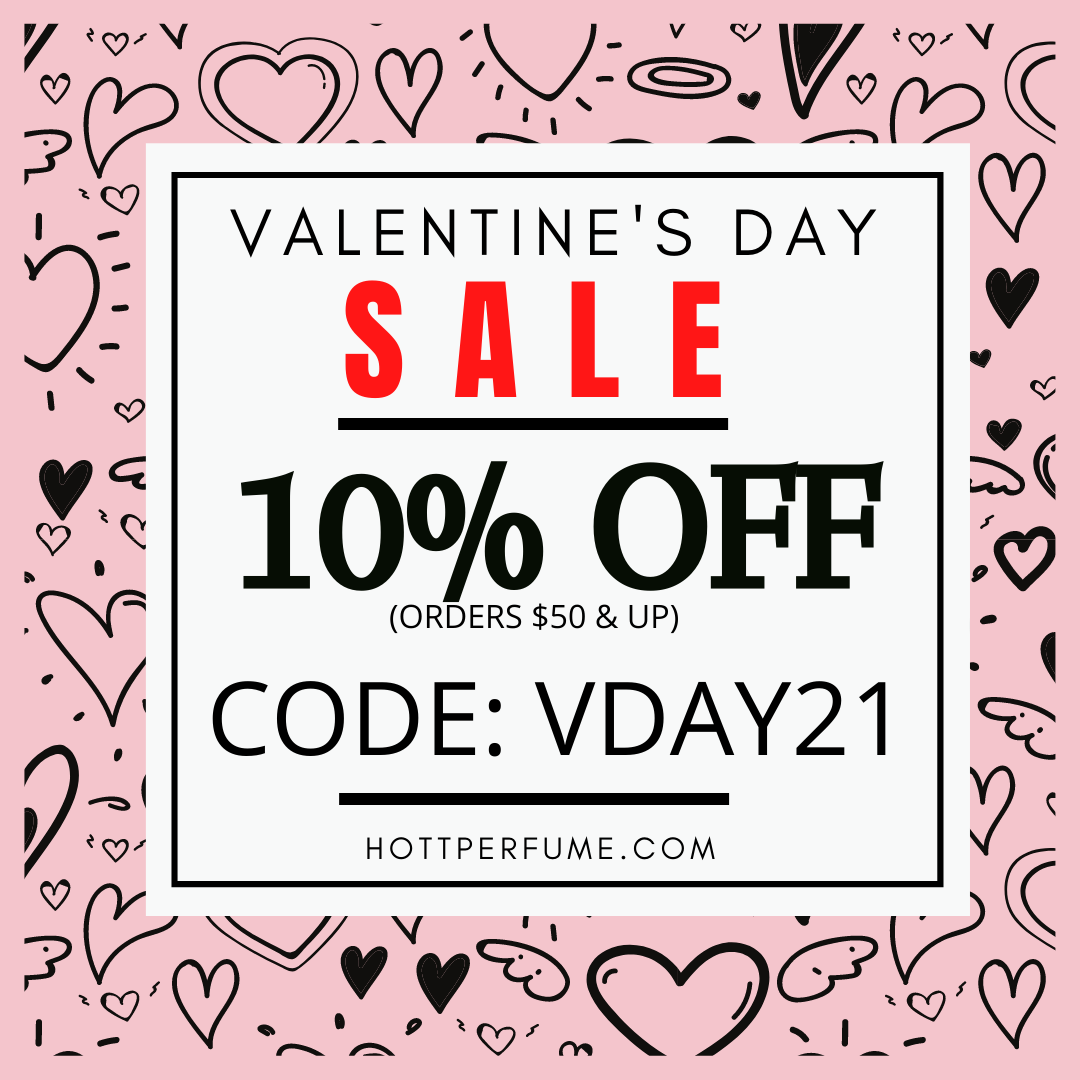 10% OFF At Hottperfume.com Orders $50 & Up