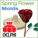 Flower Molds for Spring Glass Projects