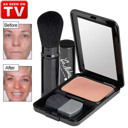 Simply brush on and go! This 8-in-1 self-adjusting powder eliminates the need for foundation, blush, eye shadow, concealer, highlight, contour, brow and lip color. One self-adjusting shade works on all skin-tones. Blends away imperfections like magic! Pro. All In One Cosmetic, All In One Makeup, All-In-One, Beauty, Canada, Cosmetic, Gluten, Go Natural, Magic, Makeup, Mineral, Natural, On Tv Lip Plumper, Best Concealer, Corrector, Best Blush, Best Foundation, Powder, Lip Stick, Best Eye Shadow, Smokey Eye Shadow, Hilight, Contour, Best Mascara Magic Lash, Bronzer, Cream To Powder, Illuminator, Powder, Magic Powder #Usa #All In One Cosmetic #All In One Makeup #All-In-One #Beauty #Canada #Cosmetic #Gluten #Go Natural #Magic #Makeup #Mineral #Natural #On Tv Lip Plumper #Best Concealer #Corrector #Best Blush #Best Foundation #Powder #Lip Stick #Best Eye Shadow #Smokey Eye Shadow #Hilight #Contour #Best Mascara #Bronzer #Cream To Powder #Illuminator #Powder #Magic Powder #AllInOneCosmetic #AllInOneMakeup #GoNatural #OnTvLipPlumper #BestConcealer #BestBlush #BestFoundation #LipStick #BestEyeShadow #SmokeyEyeShadow #BestMascara #MagicLash #CreamToPowder #MagicPowder #All-In-One-Cosmetic #All-In-One-Makeup #Go-Natural #On-Tv-Lip-Plumper #Best-Concealer #Best-Blush #Best-Foundation #Lip-Stick #Best-Eye-Shadow #Smokey-Eye-Shadow #Best-Mascara #Magic-Lash #Cream-To-Powder #Magic-Powder