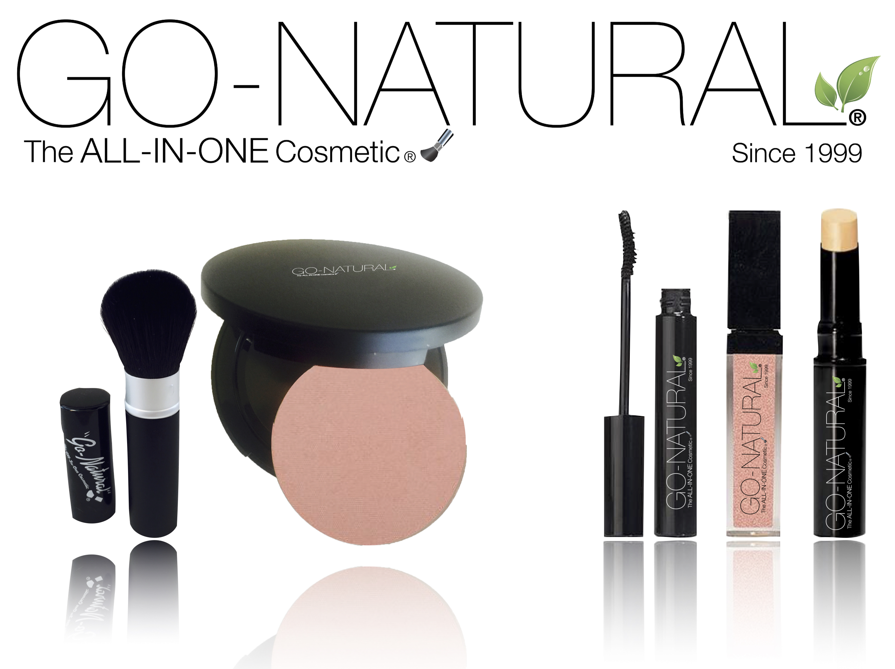 Go-Natural The All-In-One Cosmetic Makeup Shop USA and Canada