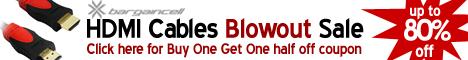 Bargaincell.com HDMI cable Blowout Sale