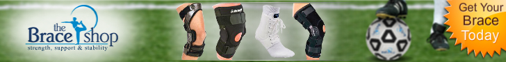 Braceshop.com-Extremity Braces, Therapy Products & Accessories for Soccer injuries! 728x90 banner