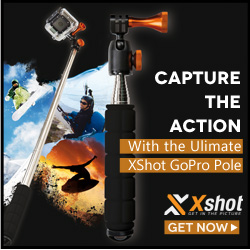 XShot pole for GoPro and action cameras