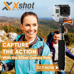 XShot outdoors photo gear