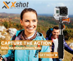 XShot outdoors photo gear