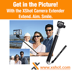 Camera Extenders and Handheld Monopods for Travel Photography and self-portraits