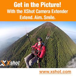 XShot Camera extender, selfie stick