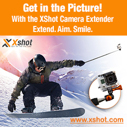 XShot camera extender for cameras,GoPro and smartphones