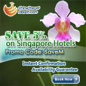 Save 5% on Singapore Hotels