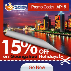 15% off for GuangzhouTours