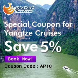 Special Coupon for Yangtze Cruises, Save 5%