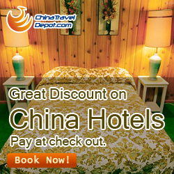 Great Discount on China Hotels, Pay at check out.