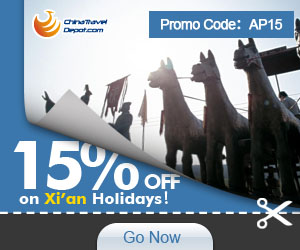 15% off for Xi'an Activity