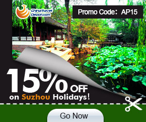 15% off for Suzhou Activity