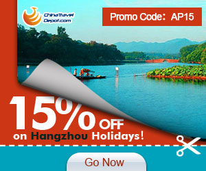 15% off for Hangzhou Activity