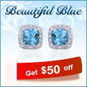 Katarina-Beautiful Blue! Get $50 off your purchase of $250 and more + Free Shipping