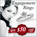 Engagement Rings - Get $50 off any qualifying purchase of $500