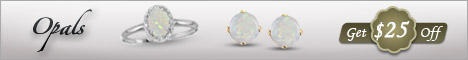 Celebrate October with Opals-Get $25 off any qualifying purchase of $100