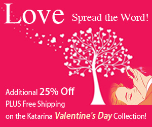 Katarina-Valentine's Day Collection! - Get Additional 25% Off and Free 2nd Day Shipping