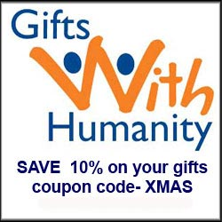 Holiday 10% OFF Gifts With Humanity