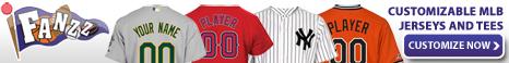 Custom MLB Jerseys and Tees