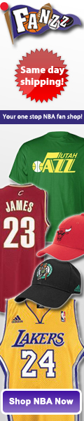 Fanzz has amazing deals on NBA Jerseys, NBA Hats, NBA Apparel, and NBA Gifts.
