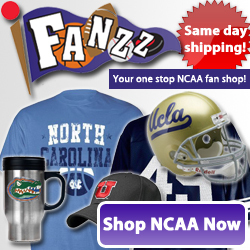Fanzz has amazing deals on NCAA T-Shirts, NCAA Hats, NCAA Apparel, and NCAA Gifts.
