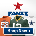 Fanzz has amazing deals on NFL Jerseys, NFL Hats, NFL Apparel, and NFL Gifts.