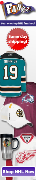 Fanzz has amazing deals on NHL Jerseys, NHL Hats, NHL Apparel, and NHL Gifts.