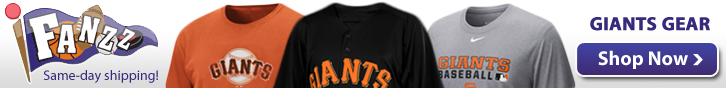 San Francisco Giants Apparel, Jerseys and Gifts