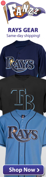Tampa Bay Rays Apparel, Jerseys and Gifts