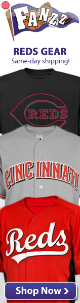 Cincinnati Reds Apparel, Jerseys and Gifts