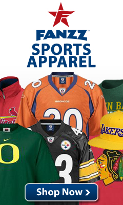 Fanzz Sports Apparel is the place for NFL, NBA, MLB, NCAA and NHL apparel and gifts.