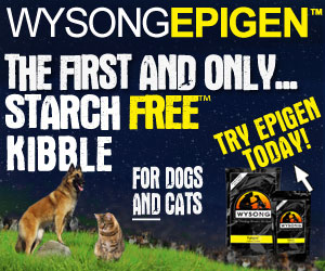 The first and only starch-free kibble - For dogs and cats - Try Epigen today!