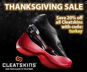 20% Off All Cleatskins