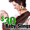 $30 baby slings by HugaMonkey