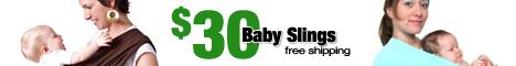 HugaMonkey $30 Baby Slings