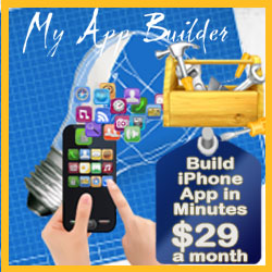 Need iPhone App Built? Build your own app in Minutes, only $29 a month!
