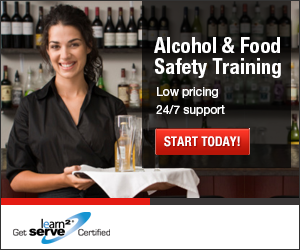 Learn2Serve Food & Alcohol Seller Certification